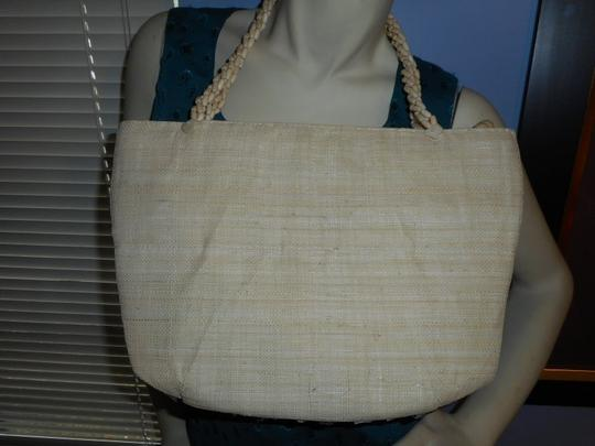 Other Tote in Ivory, and brown
