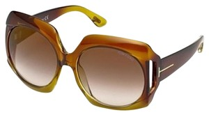 Tom Ford Tom Ford FT0385 Brown Gradient Yellow
