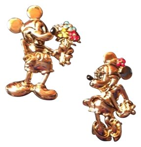 Disney Vintage Disney's Mickey & Minnie Sweet Scatter Pins
