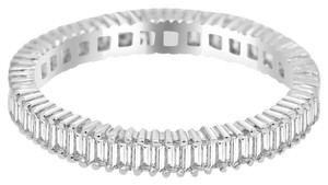 Avi and Co 1.80 cttw Straight Baguette Cut Diamond Eternity Wedding Band 18K White Gold