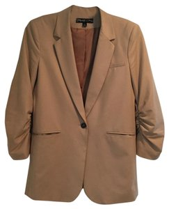 Elizabeth and James Tan Blazer