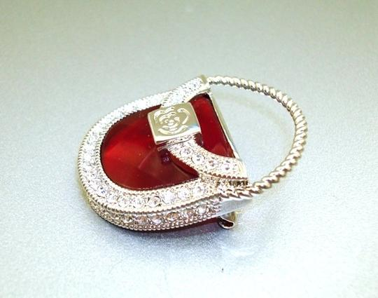 Other Vintage Red Purse Pin