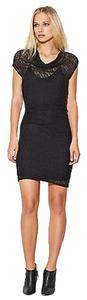Helmut Lang short dress Black Asymmetrical Hem on Tradesy