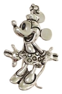 Disney Vintage Minnie Brooch in Antiqued Silver Plating