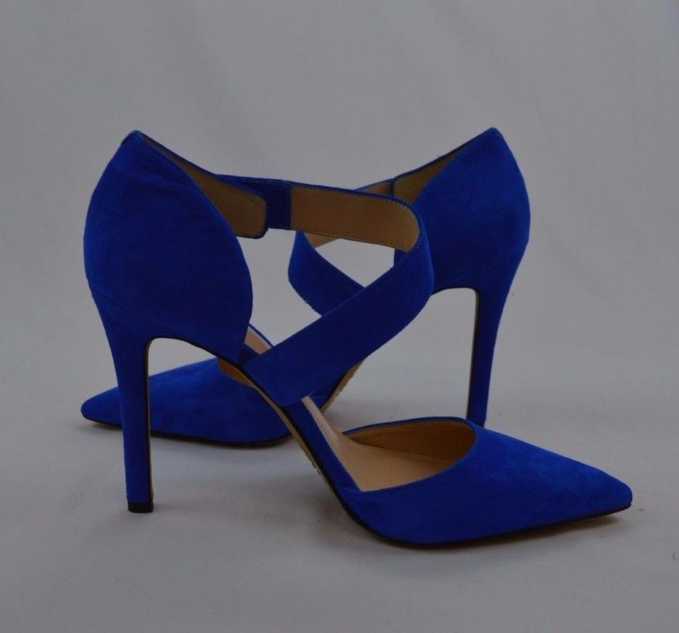 d57656a78 Vince Camuto Blue Carlotte Pumps Size US 9 Regular (M, B) - Tradesy