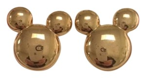 Disney Mickey Silhouette Earrings in Original Packaging