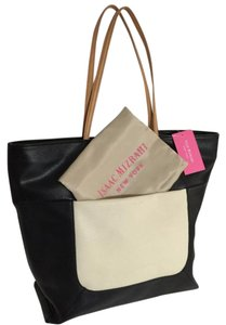 Isaac Mizrahi Tote in Black And Antique White