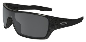 Oakley Oakley OO9307-02 Turbine Ghost Text/Black Lens Sunglasses