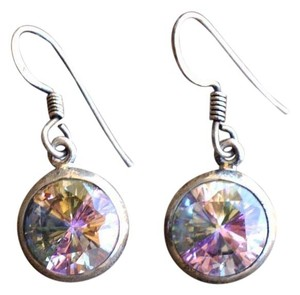 Other Sterling Silver Four Season Quartz earrings