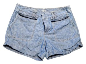 Ann Taylor LOFT Mini Sexy Denim Summer Mini/Short Shorts Jean / Blue
