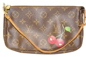 Louis Vuitton Monogram Cherry Rare Clutch