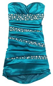 B. Darlin Homecoming Bodycon Strapless Dress