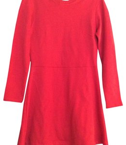 Zara short dress Red on Tradesy