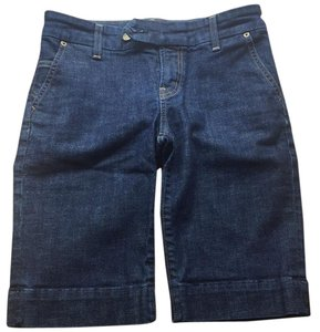 Citizens of Humanity Dress Shorts Dark denim