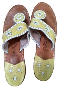 Jack Rogers Whipstich Navajo Yellow Mellow Yellow Sandals