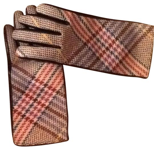 Burberry Burberry Chic and Sophisticated Leather Cashmere Lined Driving Gloves