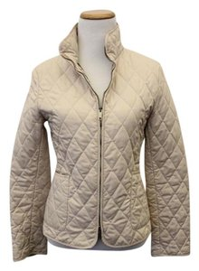 Burberry London Quilted Beige- Cream Jacket