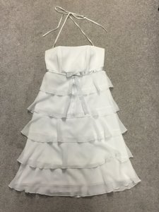 White Braidsmaid Or Cocktail Dress. Dress