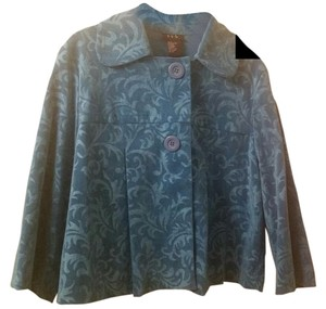 RQT Lightweight Turquoise Print Jacket