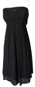 BCBGMAXAZRIA Chiffon Cotton Lbd Bcbg Dress