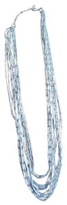 Coldwater Creek Coldwater Creek Long Multi-strand Liquid Silver Style Necklace