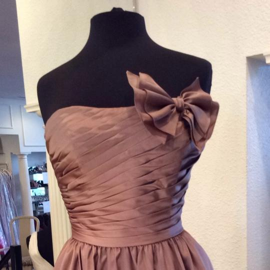 Mori Lee Praline Bridesmaid/Mob Dress Size 8 (M) Image 1