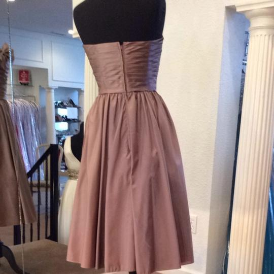 Mori Lee Praline Bridesmaid/Mob Dress Size 8 (M) Image 2