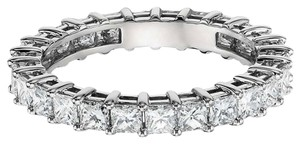 Avi and Co 2.50 cttw Princess Cut Diamond Shared Prong Eternity Band 14K White Gold