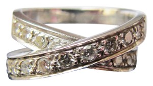 Other Diamond criss cross ring