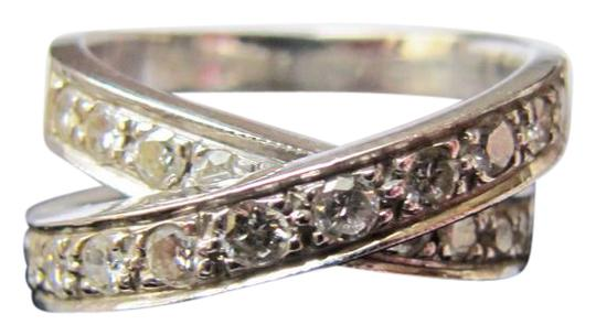Other Diamond criss cross ring Image 0