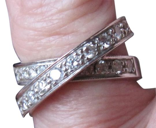 Other Diamond criss cross ring Image 1