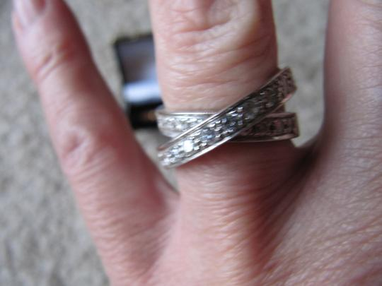 Other Diamond criss cross ring Image 2