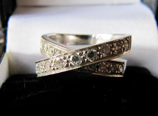 Other Diamond criss cross ring Image 4
