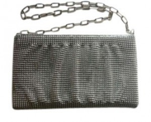 Other Wristlet Silver Clutch
