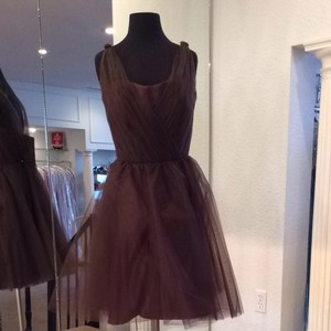 Forever Yours Chocolate Bridesmaid/Mob Dress Size 8 (M)