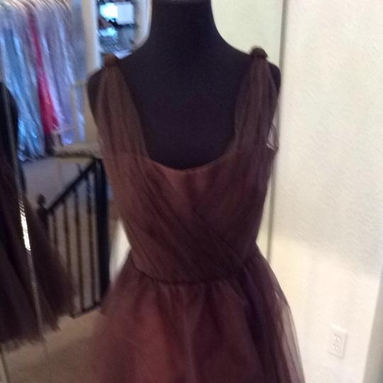 Forever Yours Chocolate Bridesmaid/Mob Dress Size 8 (M) Image 1