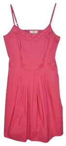 Ann Taylor LOFT short dress Rose Cotton Summer on Tradesy