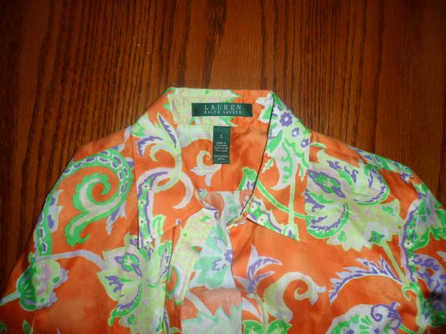 Ralph Lauren Button Down Shirt orange