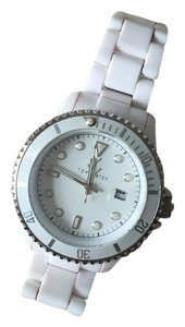ToyWatch ToyWatch Ladies White Plastic Watch