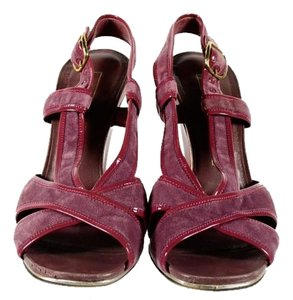 Marc Jacobs Maison Margela Prada burgundy Pumps