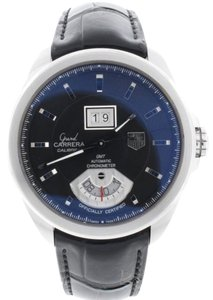 TAG Heuer Tag Heuer Grand Carrera GMT Big Date Automatic Mens 42.5MM Watch WAV5111.FC6225