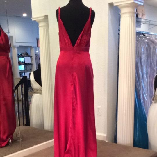 Bari Jay Berry Bridesmaid/Mob Dress Size 8 (M)