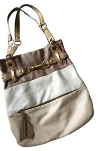 B. Makowsky B. Pocketbook Leather Trendy Shoulder Bag