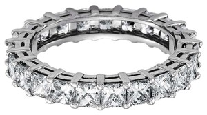 Avi and Co 3.25 cttw Princess Cut Diamond Shared Prong Eternity Band 14K White Gold