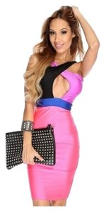 Other Date Bodycon Pencil Black Dress