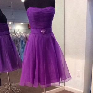 Mori Lee Purple Dress