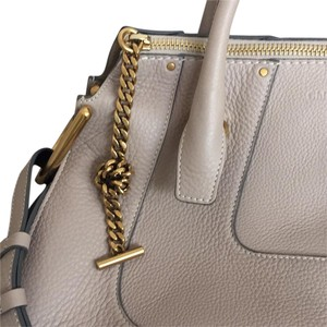 Chloé Tote in Pastel Grey BE7