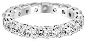 Avi and Co 2.80 cttw Round Brilliant Cut Diamond Eternity Wedding Band 14K White Gold