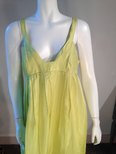 Graham & Spencer short dress Chartreuse Summer Silk on Tradesy