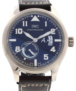 IWC IWC 18K White Gold Saint Exupery Limited Edn Power Reserve 3201 B&P